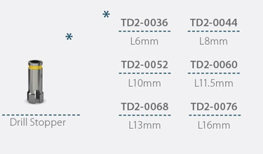 Stopper pentru freza de 2.8mm