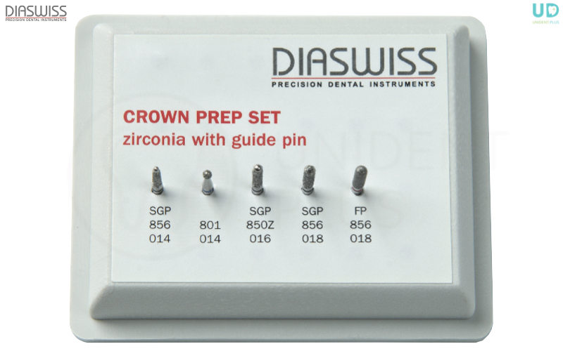 Crown Prep Set Zirconiu