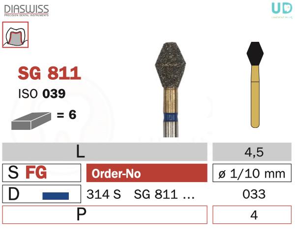 Freza Goldies SG811