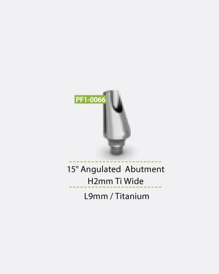 15° Angulated Abutment H2MM Wide