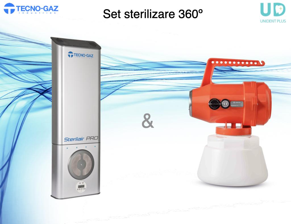 Set SterilAir & SafetySpot