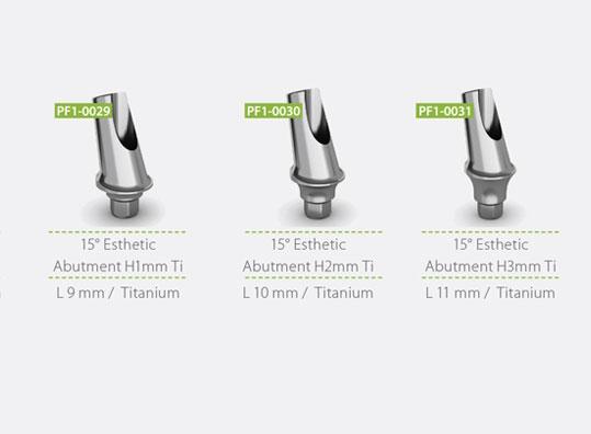 15° Titanium Esthetic Abutment