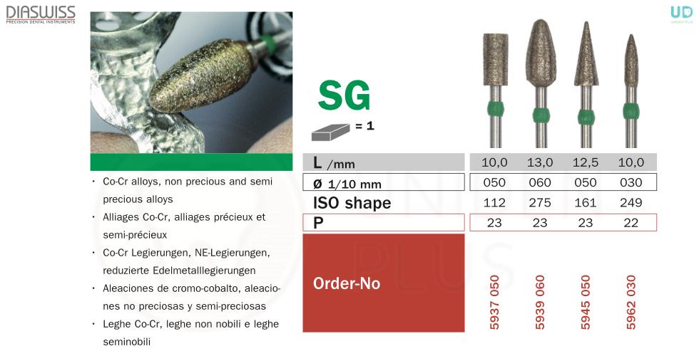 Freza sinterizata SG59