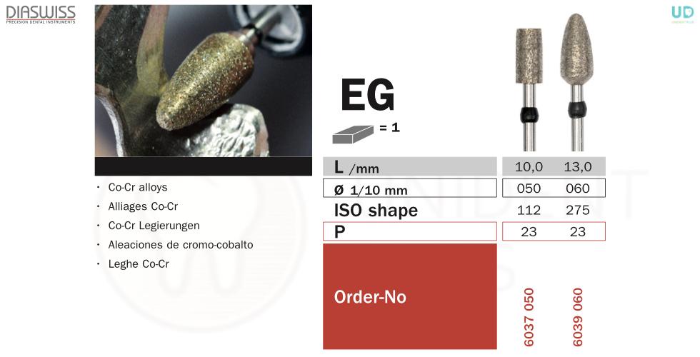 Freza sinterizata EG60
