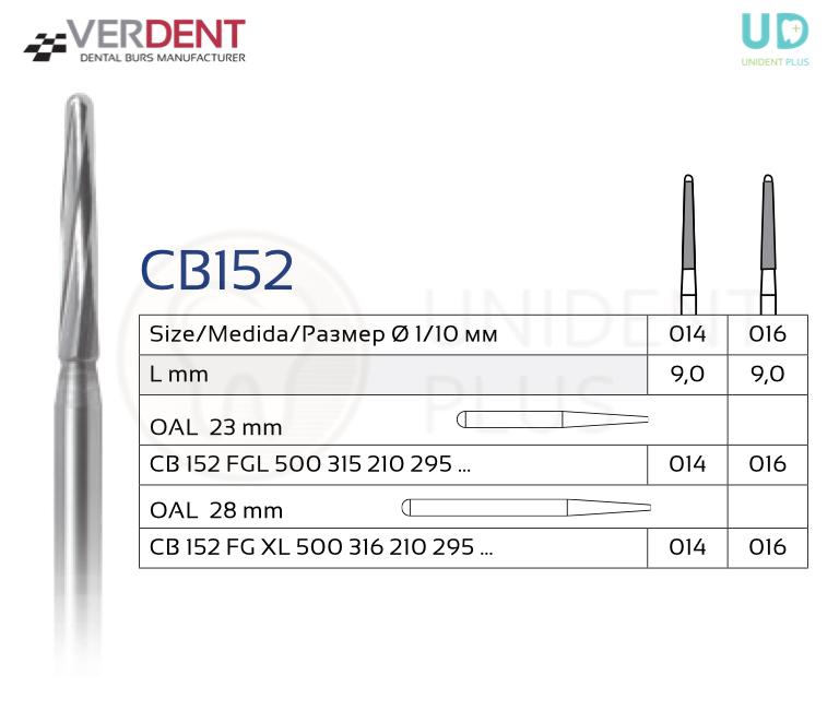 CB152 freza chirurgicala