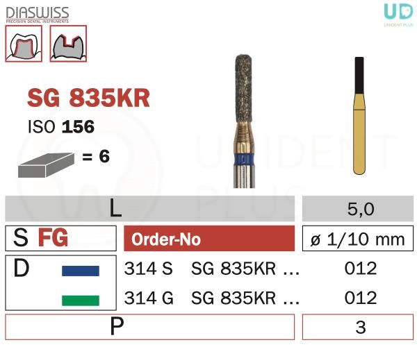 Freza Goldies SG835KR