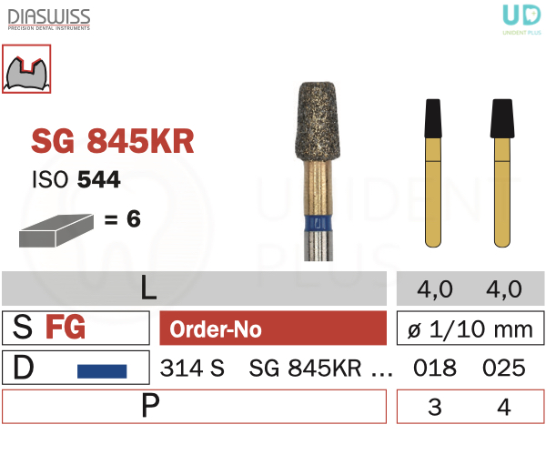 Freza Goldies SG845KR