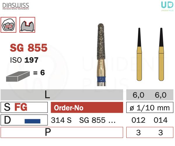Freza Goldies SG855