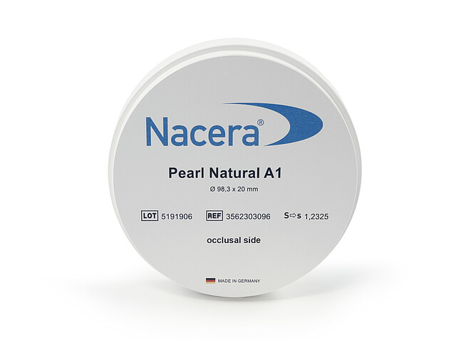 Disc Zirconiu Nacera Pearl Natural