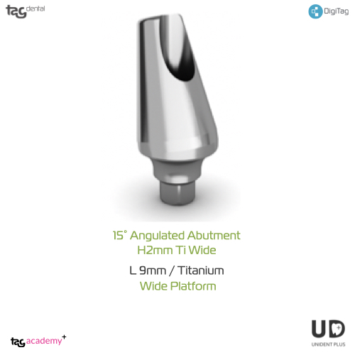 25° Angulated Abutment H2MM Wide
