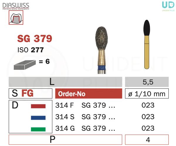 Freza Goldies SG379