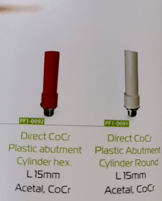 Direct CoCr Plastic Cylinder