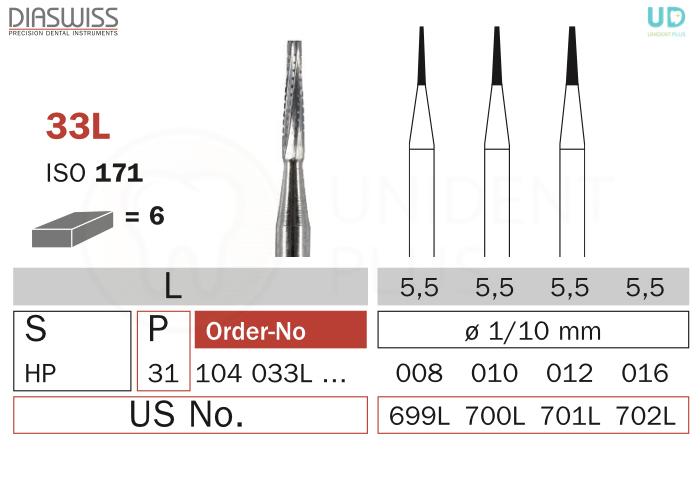 Freza extradura 33L-HP