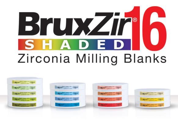 Disc de zirconiu BruxZir Shaded 16