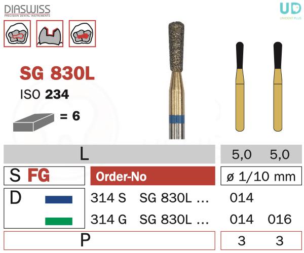 Freza Goldies SG830L