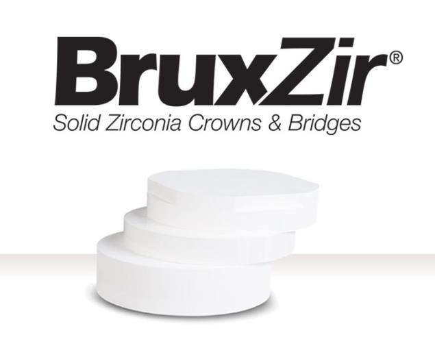 Disc de zirconiu BruxZir Solid Zirconia