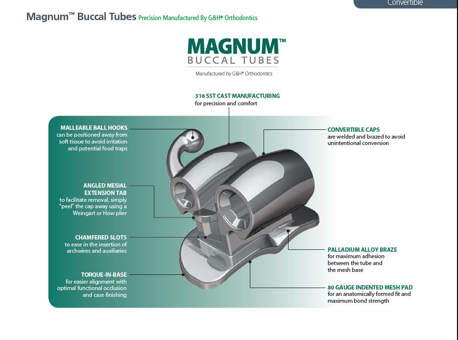 Tuburi bucale convertibile Magnum