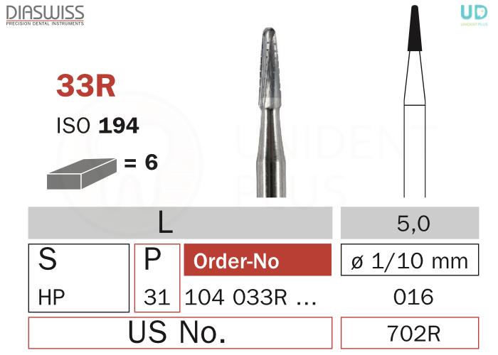Freza extradura 33R-HP