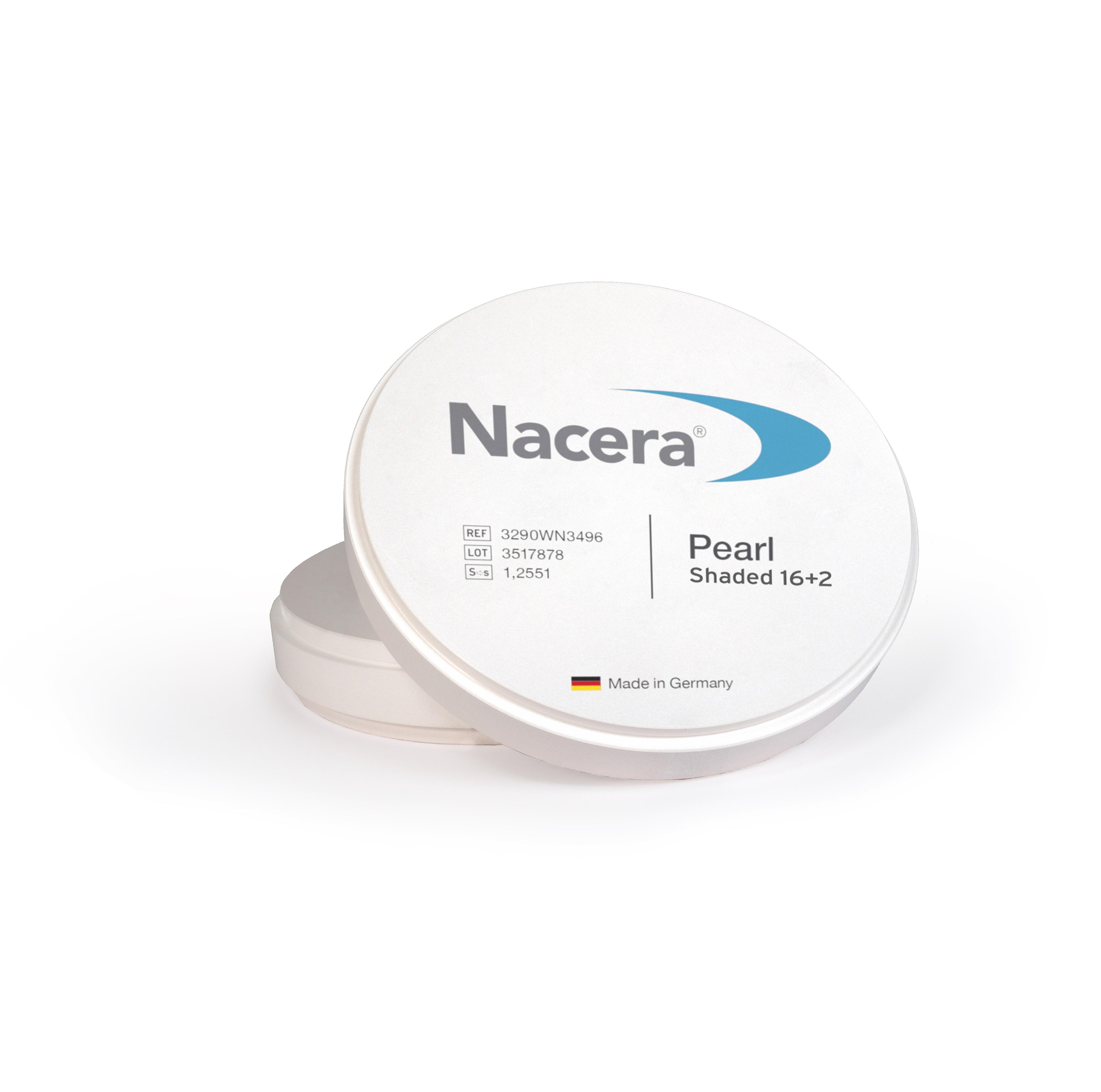 Disc zirconiu Nacera Pearl Shaded 16+2