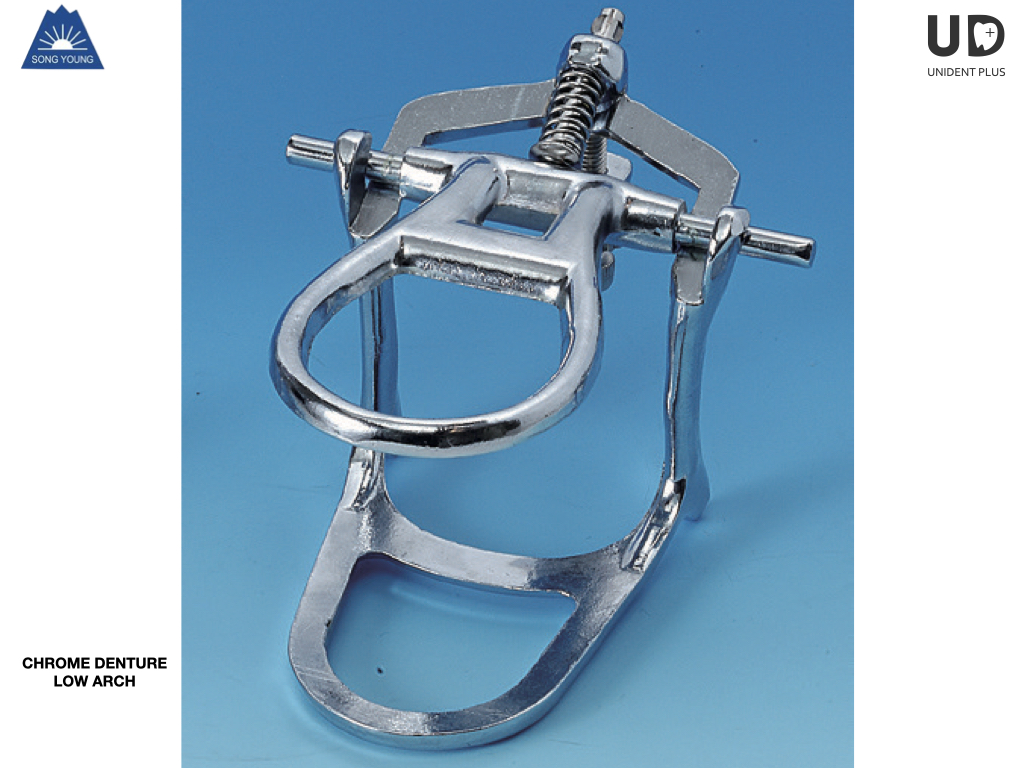 Articulator CHROME DENTURE  Low Arch SongYoung