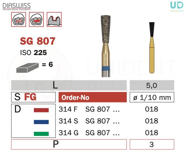 Freza Goldies SG807