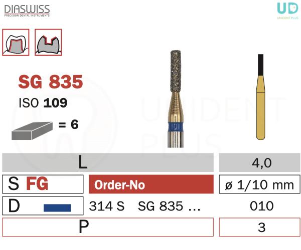 Freza Goldies SG835