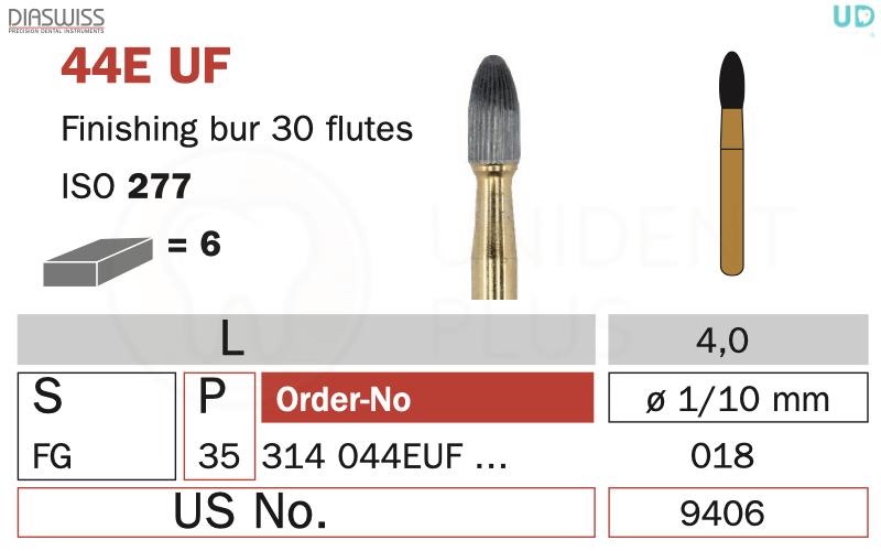 Freza finisare 44E UF